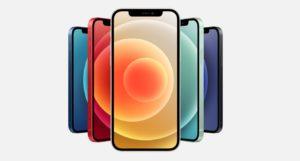 iPhone12の5色